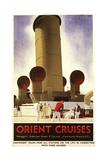 Orient Cruises Giclee Print