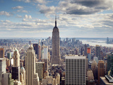 NYC the Empire Photographic Print by Nina Papiorek