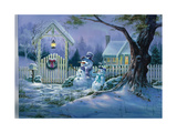 Seasons Greeters Giclee Print by Michael R. Humphries