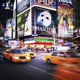 NYC Taxi Taxi Fotografisk tryk af Nina Papiorek
