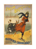 Patin-Bicyclette - Richard-Choubersky Giclee Print