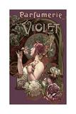 Parfumerie Violet Giclee Print