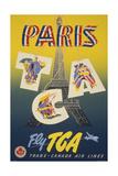 Pariscga Giclee Print
