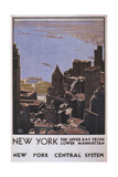 NY Central Giclee Print