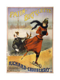 Patin Bicyclette Giclee Print