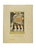 Prometheus Giclee-trykk av Frantisek Kupka
