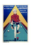 On Roule Comme.. Giclee Print