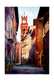 Pienza Italy Giclee Print by Laurin McCracken