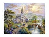 Pray for World Peace Impression giclée par Nicky Boehme