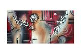 Red Divinity Impressão giclée por Megan Aroon Duncanson