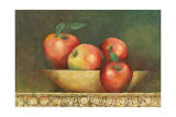 Red Apple Still Life Giclee Print by John Zaccheo