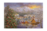 Seasons Greetings Giclee Print by Nicky Boehme