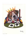 King of Spades Giclee Print by Jenny Newland