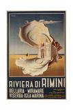 Riviera Rimini Giclee Print