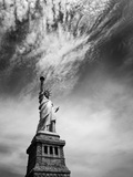 NYC Miss Liberty Photographic Print by Nina Papiorek
