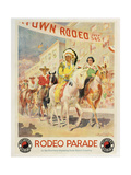Rodeo Parade Giclee Print