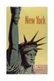 NY Liberty Giclee Print