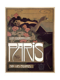 Paris Cigarettes 1901 Giclee Print