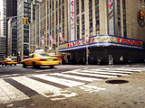 NYC Radio City Photographic Print by Nina Papiorek