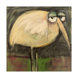 Rotund Bird Giclee Print by Tim Nyberg