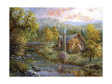Peaceful Grove Giclee Print by Nicky Boehme