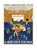 Londres. Vichy. Pullman Giclee Print