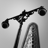 NYC Flat Iron Photographic Print by Nina Papiorek