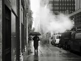 NYC Rain Photographic Print by Nina Papiorek