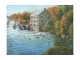 Old Mill Manotick Ontario Giclee Print by Kevin Dodds