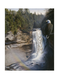 Miners Falls Giclee Print by Rusty Frentner