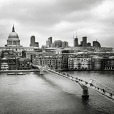 London Millenium Bridge Photographic Print by Nina Papiorek