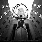 NYC Rockefellar Fotodruck von Nina Papiorek