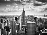 NYC Downtown Fotoprint van Nina Papiorek