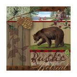 Rustic Retreat I Giclée-tryk af Fiona Stokes-Gilbert