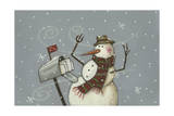 Seasons Greetings Giclee Print by Margaret Wilson