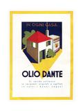 Olio Dante Giclee Print