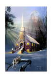 Rock Church Giclee Print by Spencer Williams