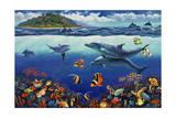 Reef Serenade Giclee Print by John Zaccheo