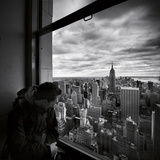 NYC Manhattan View Photographic Print by Nina Papiorek