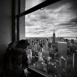 NYC Manhattan View Photographic Print by Nina Papiorek
