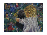 Puppy for Christmas Giclee Print by Tricia Reilly-Matthews