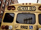 NYC School Bus Photographic Print by Nina Papiorek