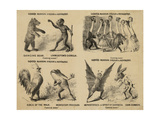 Older's Museum, Circus and Menagerie Giclee Print