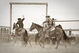 Red Top Ranch Fotografie-Druck von Dan Ballard