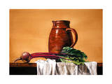 Pitcher and Beet Giclee Print by Laurin McCracken