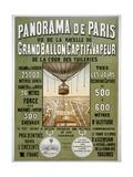 Panorama de Paris Giclee Print