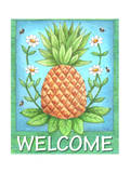 Pineapple Welcome Giclee Print by Melinda Hipsher