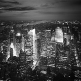 NYC Nights Photographic Print by Nina Papiorek