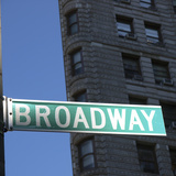 NYC Broadway Reproduction photographique par Nina Papiorek