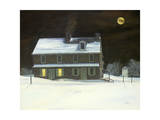 Patriot Moon Giclee Print by Jerry Cable